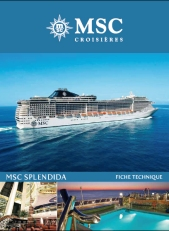 MSC Splendida - plan des ponts