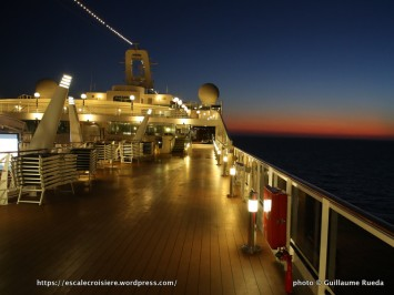 MSC Splendida - Ponts promenade