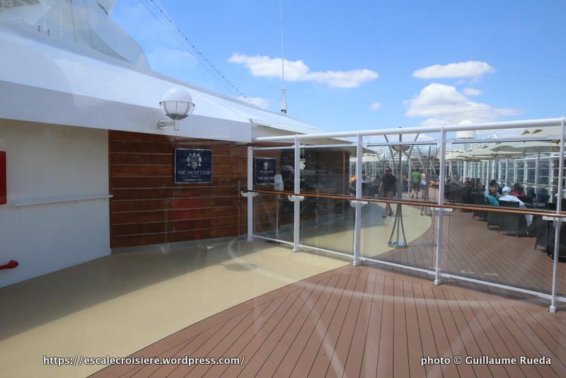MSC Splendida - Yacht Club
