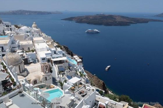 Celestyal Crystal - Santorin - Fira - Grèce