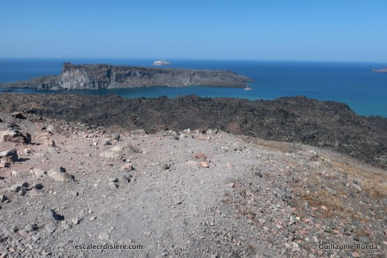Santorin - Volcan - Néa Kameni - Grèce (1)