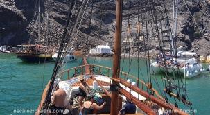 Santorin - Volcan - Palea Kameni - Grèce