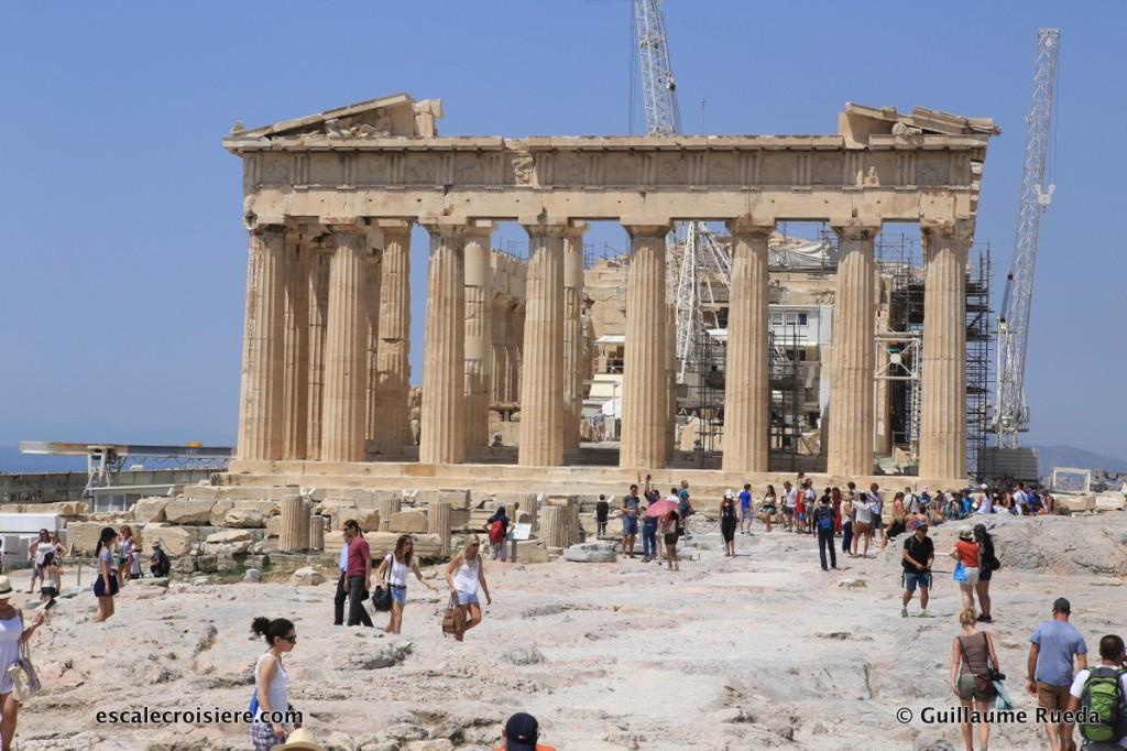 Acropole d'Athènes - Parthénon