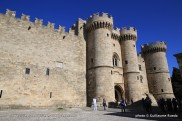 Escale à Rhodes - Grèce - Le Palais des Chevaliers