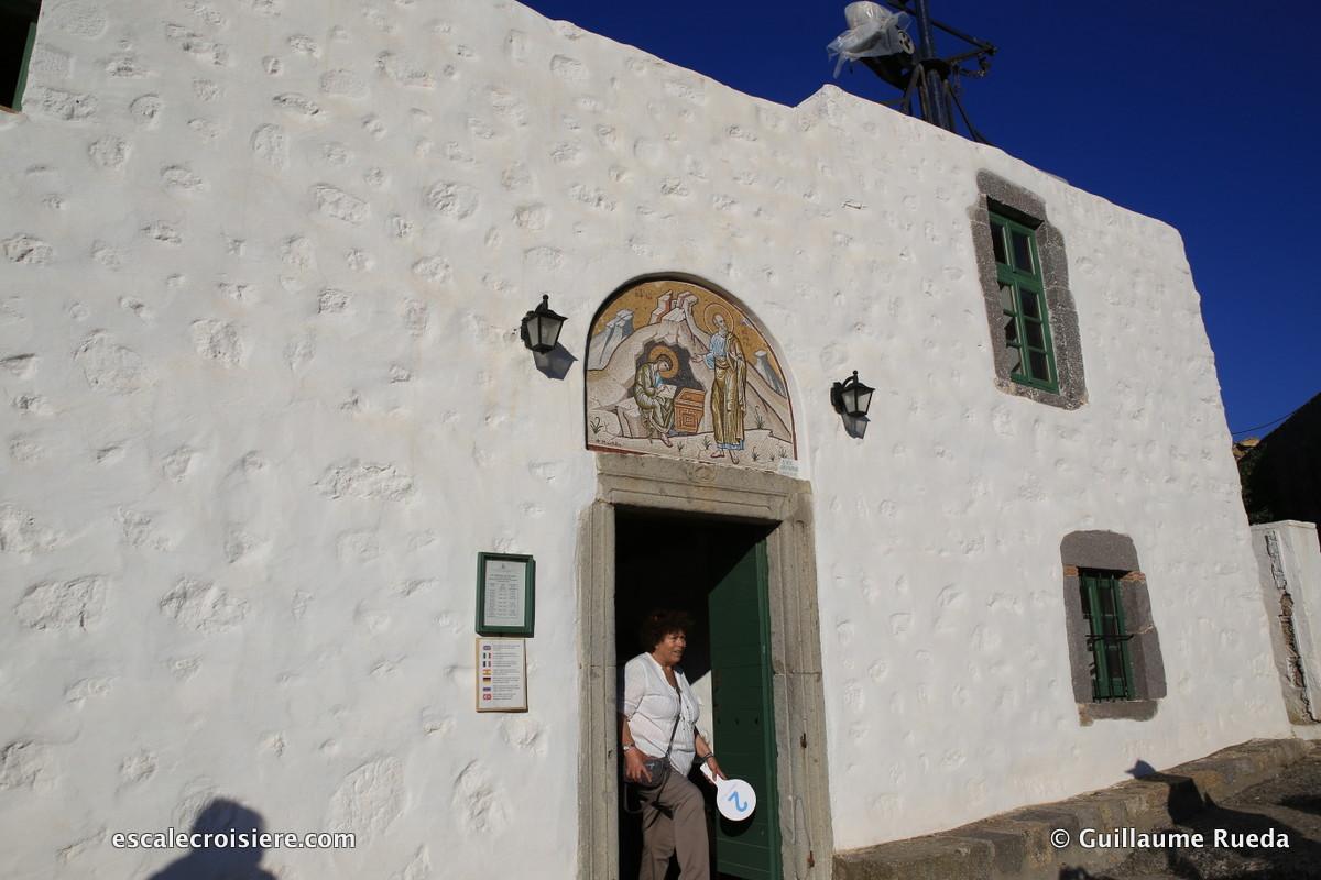 Patmos - Grotte de Saint-Jean