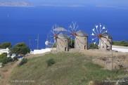 Patmos - moulins