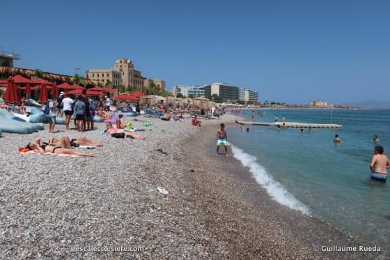 Rhodes - Grèce - plage