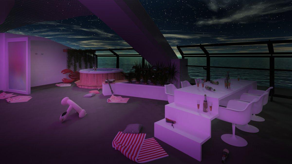 scarlet lady - suite - cabines - virgin voyage