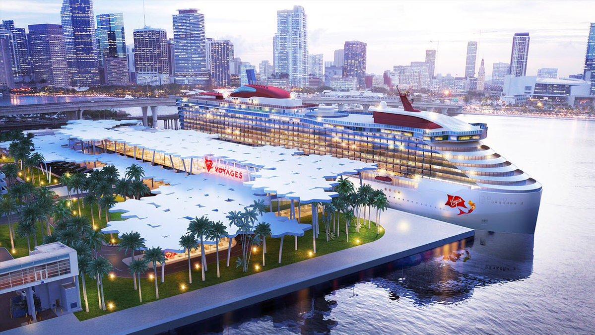 virgin voyage - miami cruise terminal