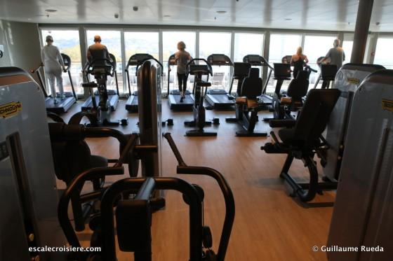 Seabourn Ovation - Salle de sport