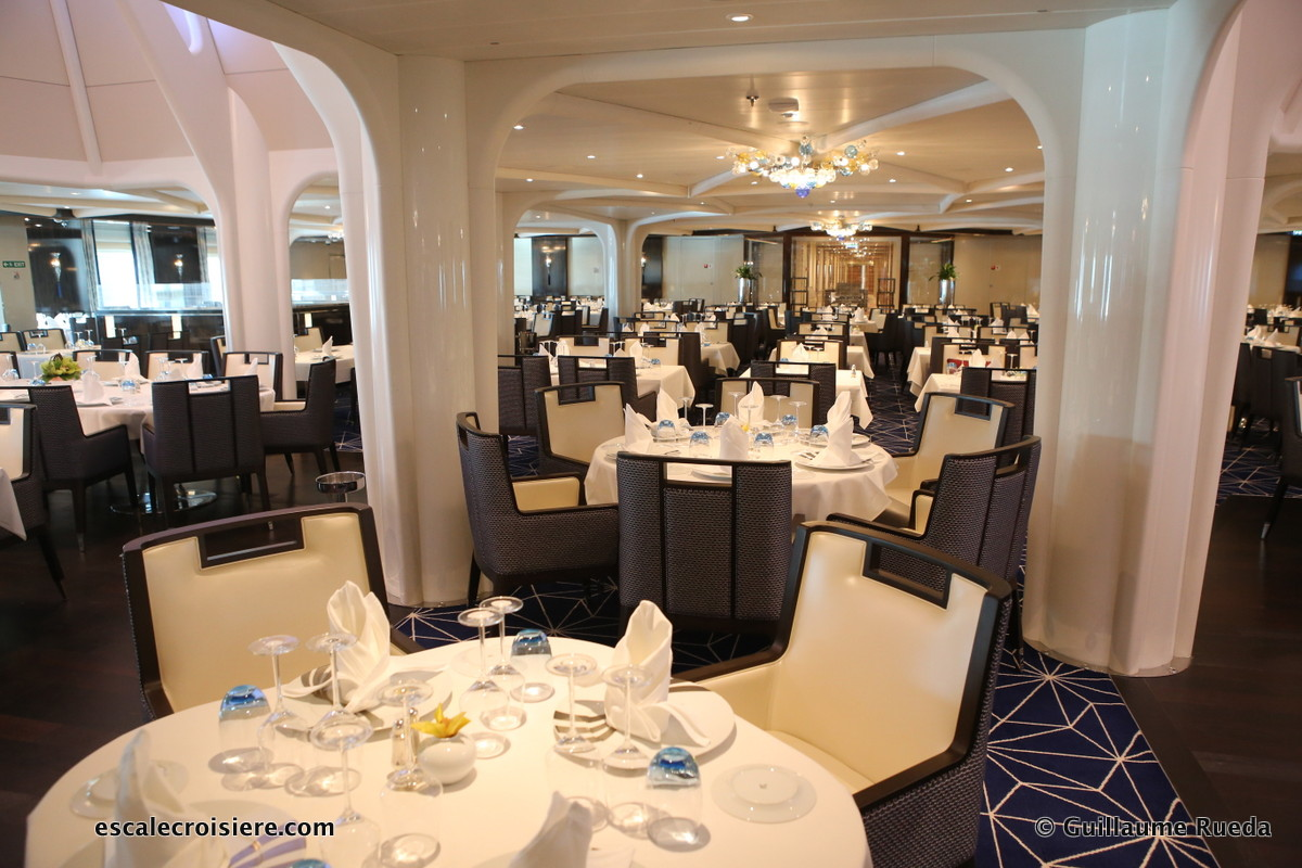 Seabourn Ovation - The restaurant