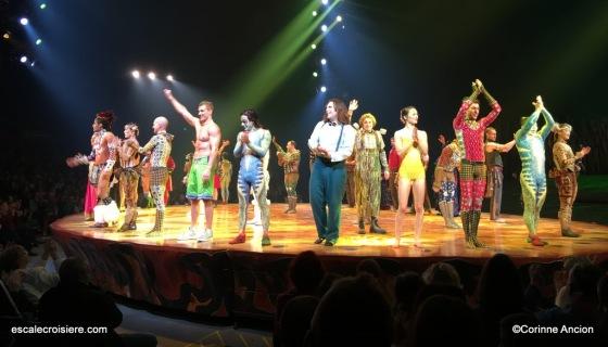 Cirque du soleil - MSC