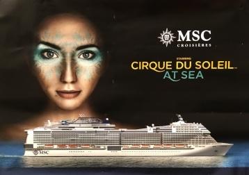 MSC Bellissima - Cirque du soleil at Sea