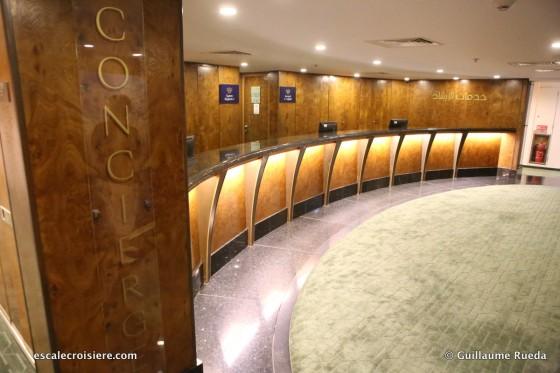 Queen Elizabeth 2 - Conciergerie
