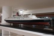 Queen Elizabeth 2 - Maquette du musee