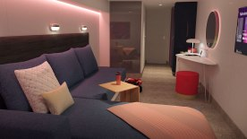 Insider Cabin - Scarlet Lady - Virgin Voyages 1