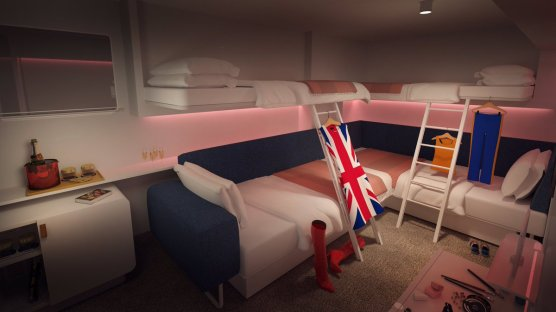 Insider Cabin - Scarlet Lady - Virgin Voyages 6