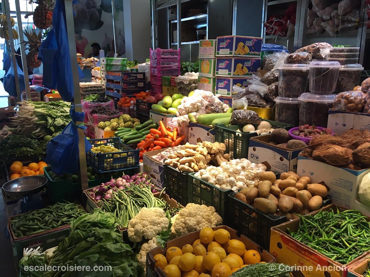 mascate - marché fruits et légumes