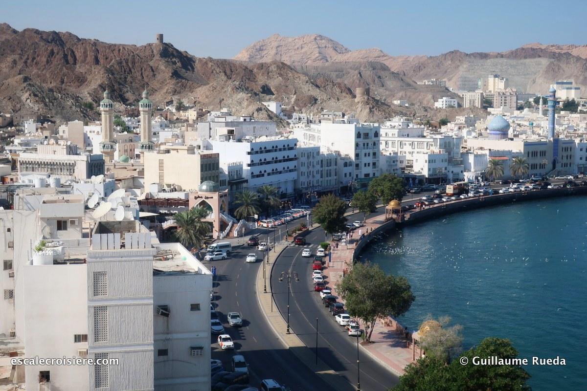 mascate - oman - La Corniche