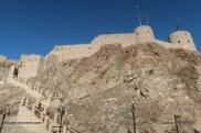 mascate - oman - fort de muttrah