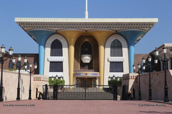 mascate - oman - palais du sultan