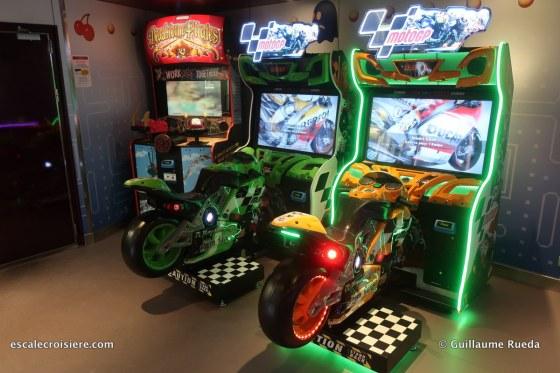 msc lirica - jeux d'arcades