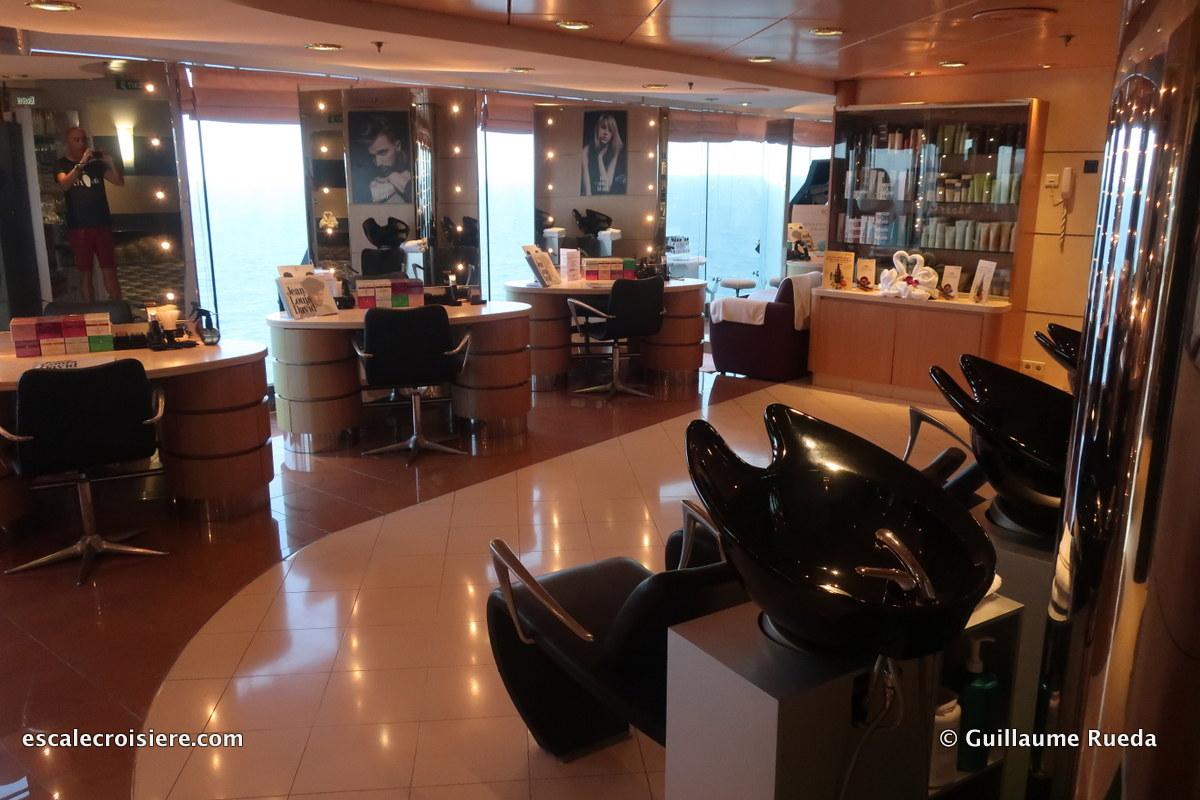msc lirica - salon de coiffure
