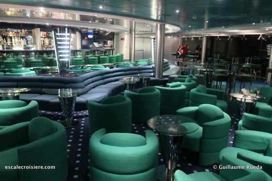 msc lirica - the blue club disco - la discothèque