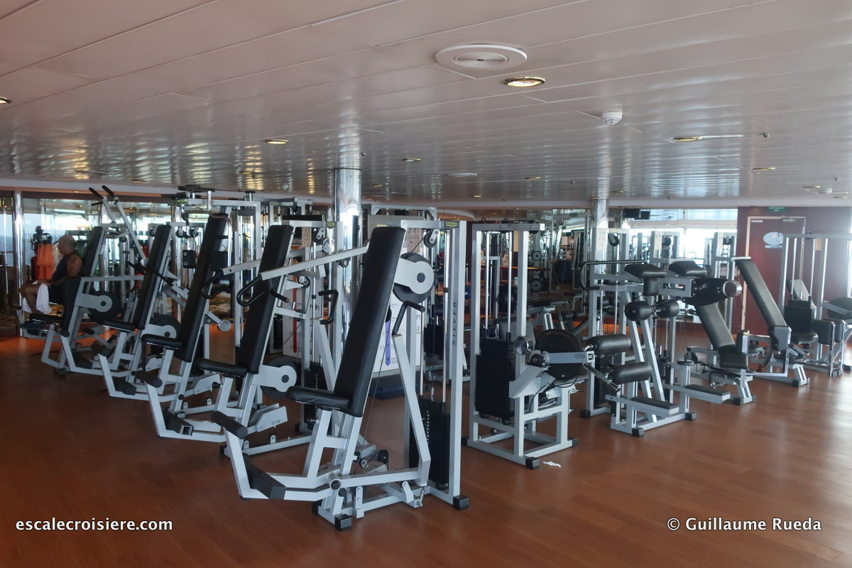 MSC Lirica - salle de sport