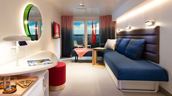 Sea Terrace Cabin - Scarlet Lady - Virgin Voyages 1