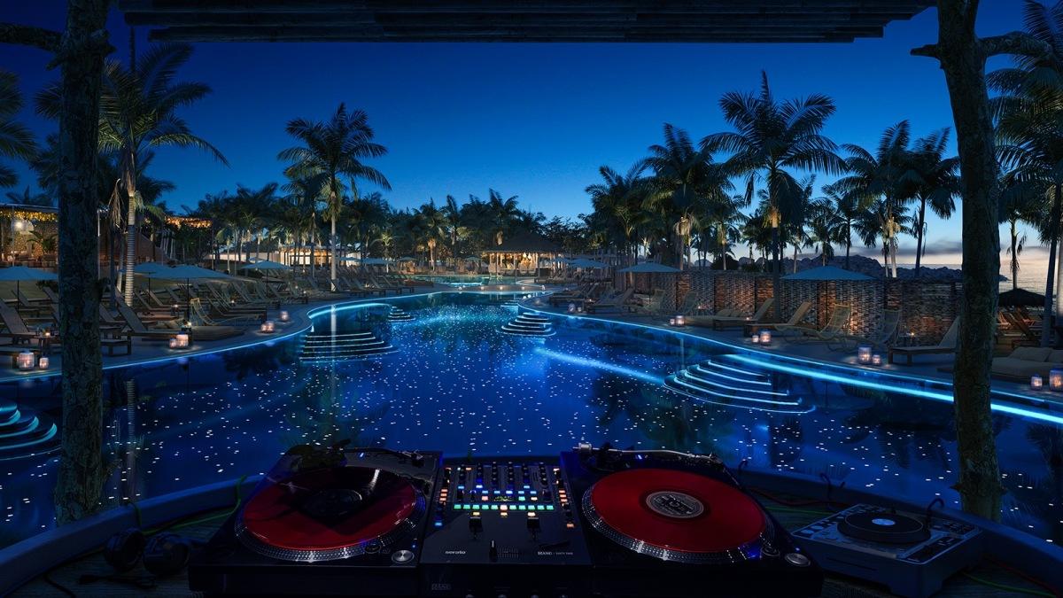 Beach Club - Bimini - Virgin Voyages