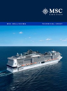 Plan des ponts MSC Bellissima - deck plan