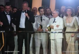 Baptême MSC Bellissima - Antonio Paradiso - Pierfrancesco Vago - Sofia Loren