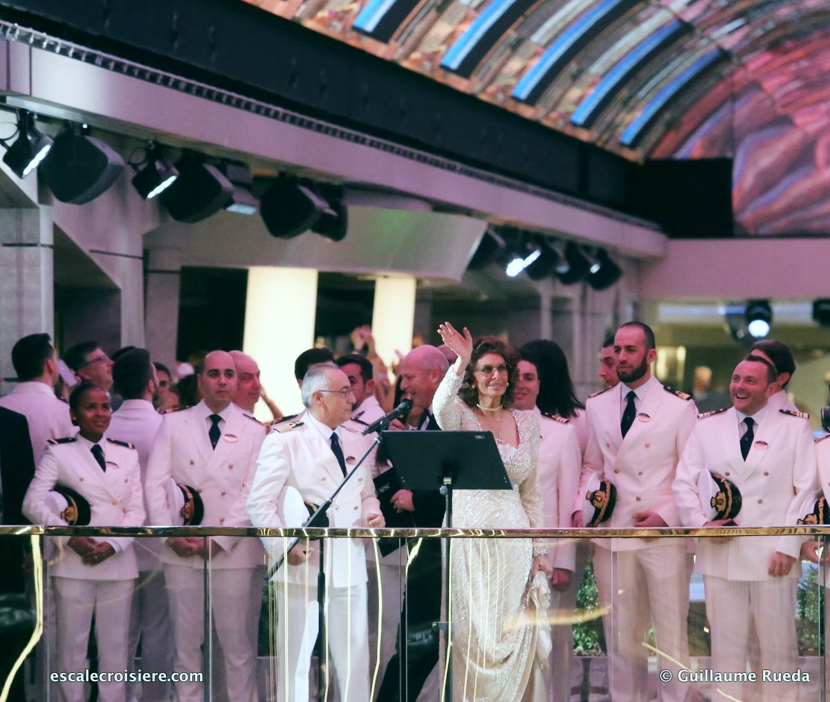 Baptême MSC Bellissima - Sofia Loren