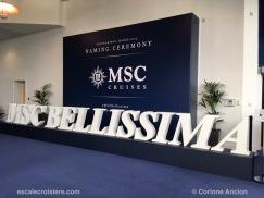 Baptême MSC Bellissima -Southampton