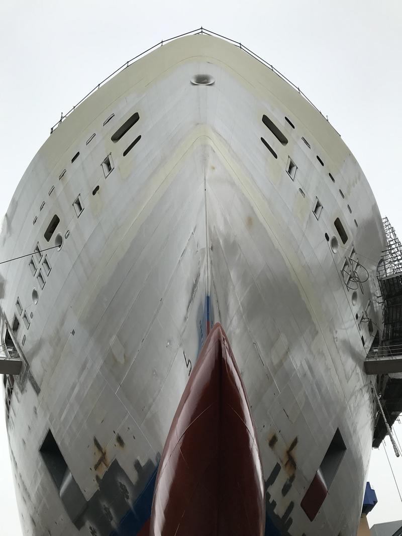 Mise à flot Costa Smeralda