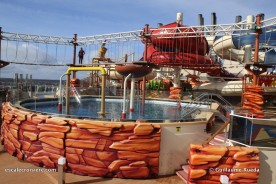MSC Bellissima Aquapark & Himalayan bridge