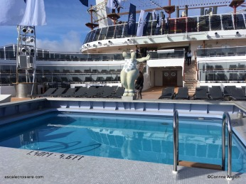 MSC Bellissima - Piscine arrière - Atmosphere pool