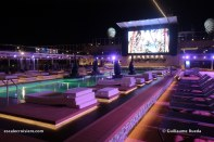 MSC Bellissima by night - Horizon pool