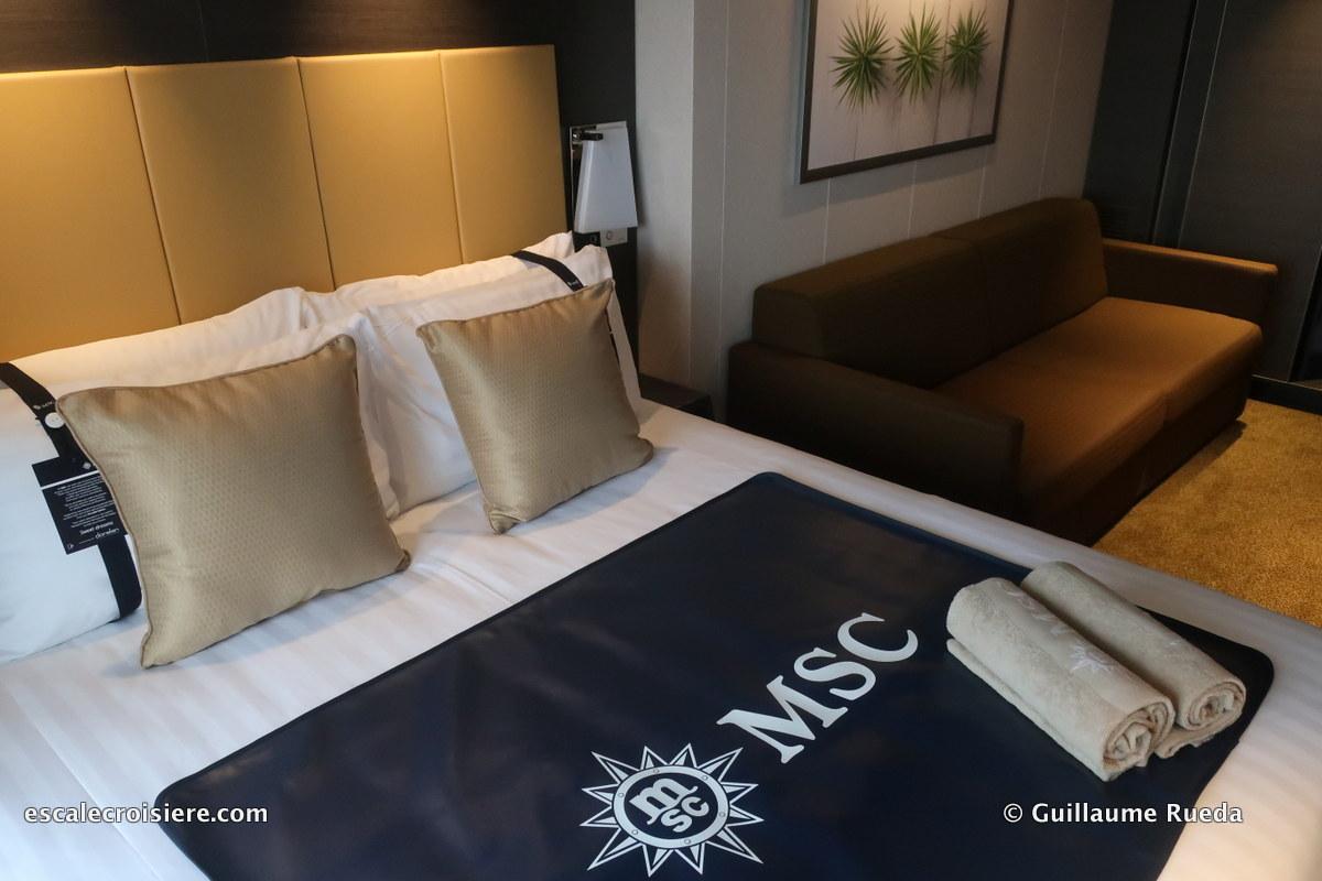 MSC Bellissima - Cabine balcon 9298