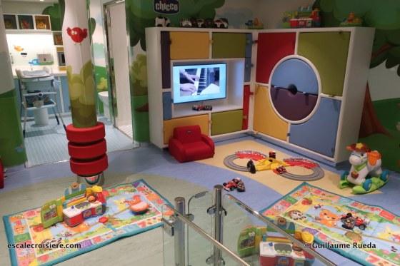 MSC Bellissima - Clubs enfants Doremi - Chicco