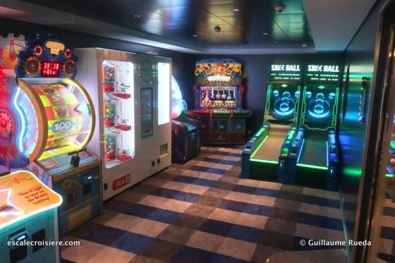 MSC Bellissima - Jeux d'Arcades