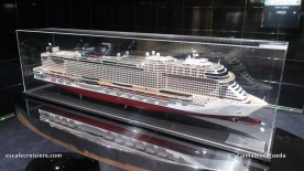 MSC Bellissima - Pont 10 MSC Seashore maquette