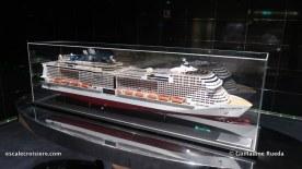 MSC Bellissima - Pont 8 MSC Meraviglia maquette