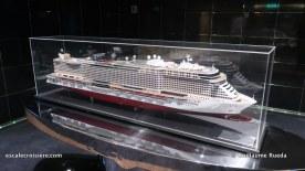 MSC Bellissima - Pont 9 MSC Seaside maquette