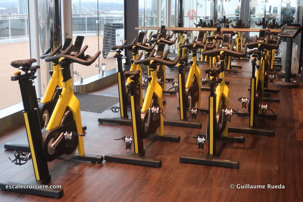 MSC Bellissima - Salle de sport
