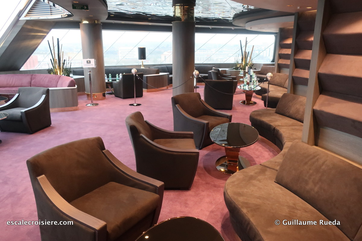 MSC Bellissima Yacht Club - Top Sail Lounge