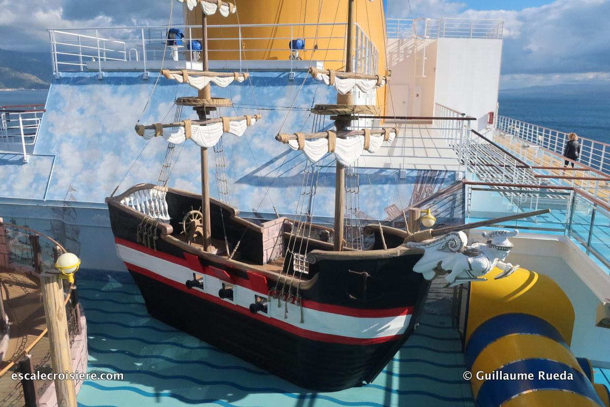 Costa Fascinosa - Espace jeux