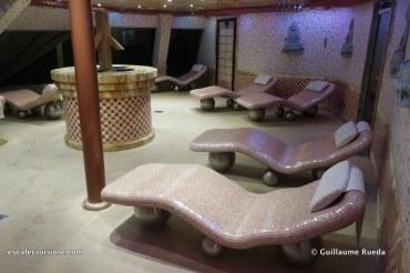 Costa Fascinosa - Samsara Spa - Transats chauffants