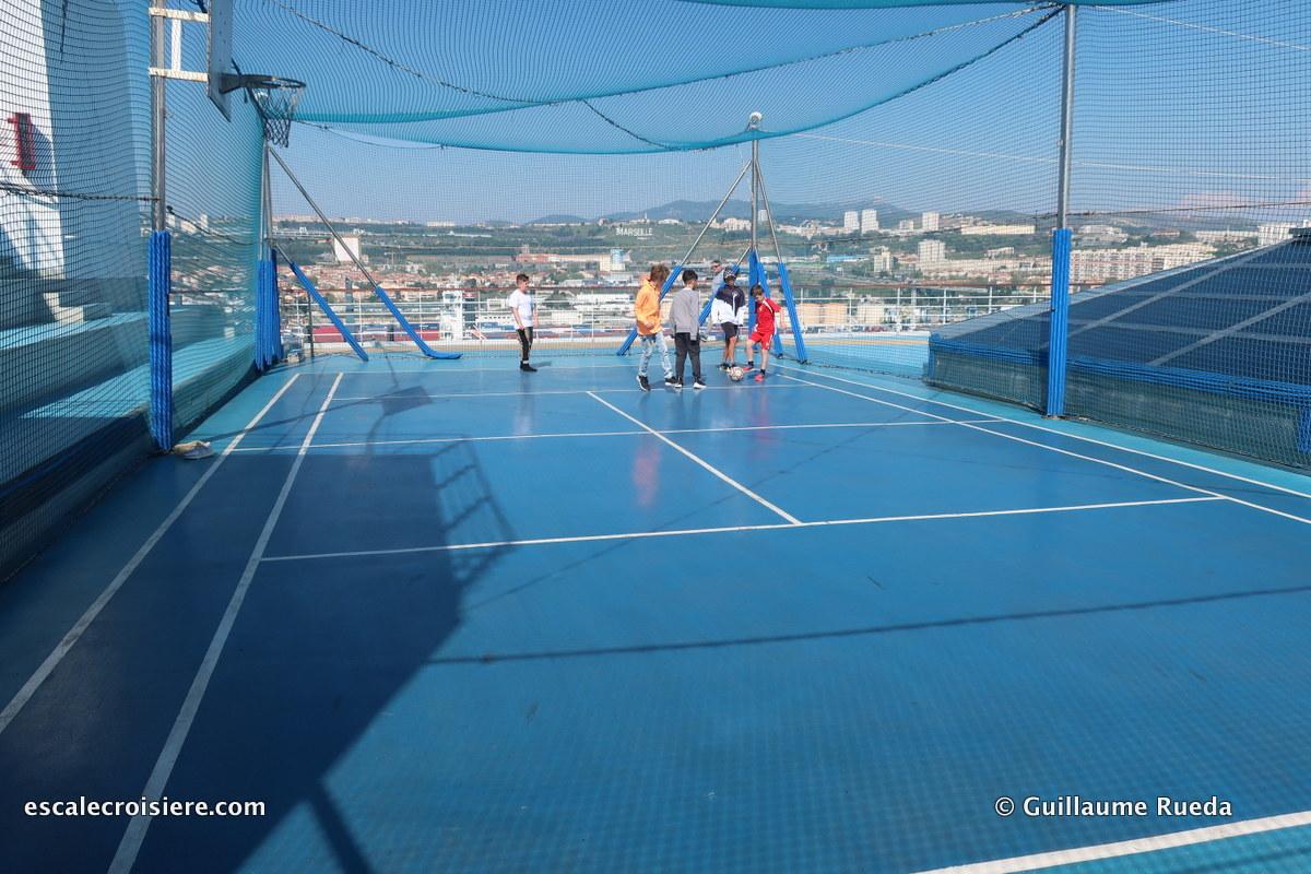 Costa Fascinosa - Terrain de basket